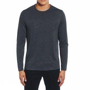 NWT CALIBRATE Slim Knit Long Sleeve T-Shirt Large